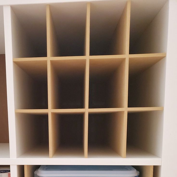 12 Cubby Cube Insert For Cube Storage Shelves In 2020 With Images