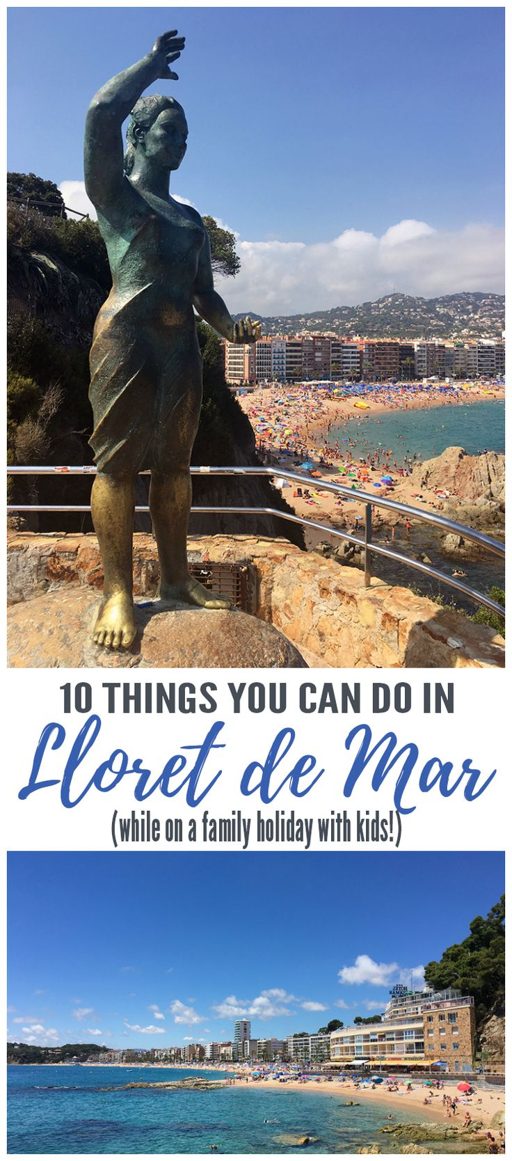 Some fun things to do on a family holiday to Lloret de Mar!
