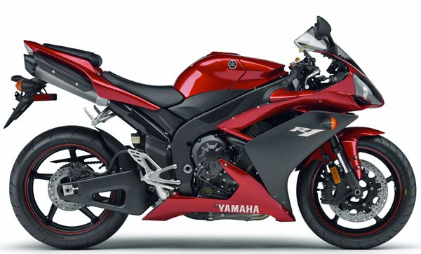 2007 yamaha r1 red