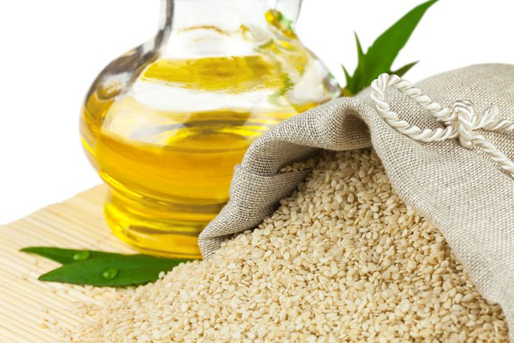 Sesame oil has been shown to flush away plaque and whiten teeth. Plus, it prevents tooth decay, gum diseases and strengthens teeth and jawbone.