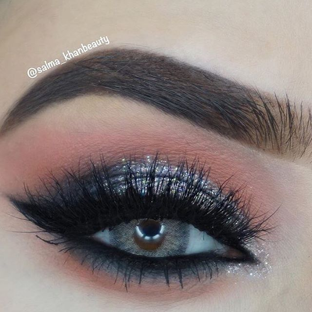 0e73acd5b52 What a gorgeous look by @salma_khanbeauty! Shes wearing @lashylicious lashes  in style Fluffylicious