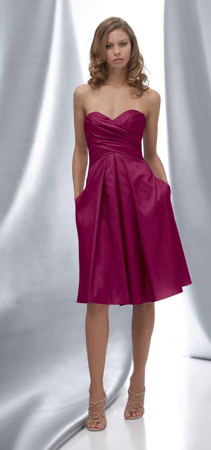 The 25 best raspberry bridesmaid dresses ideas on pinterest watters maids dress 6868 dress also offered in floor length also available in satin back taffeta as style in luminescent taffeta as style ombrellifo Choice Image