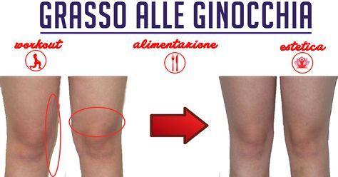 Ginocchia: tutto quello che serve per combattere il grasso localizzato alle ginocchia. Dieta, esercizi, tisane, creme e massaggi