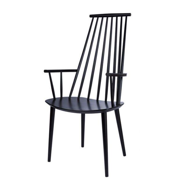 HAY J110 stoel-Zwart