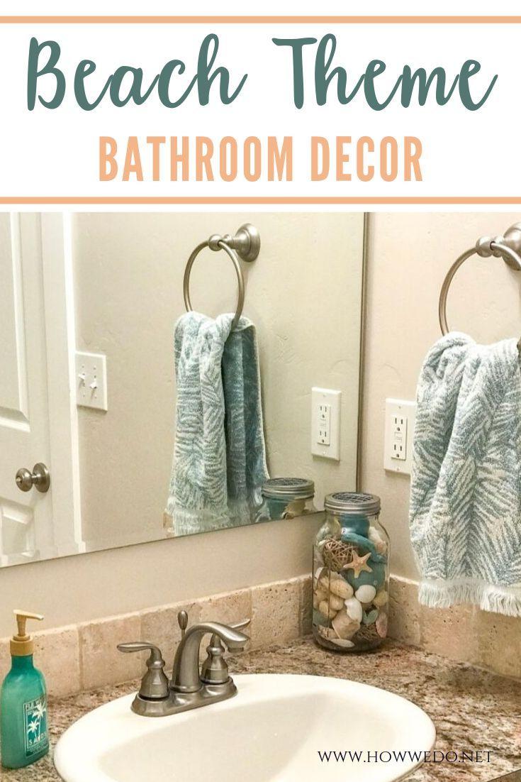 Beach Themed Bathroom Decor Ideas Beach Theme Bathroom Decor