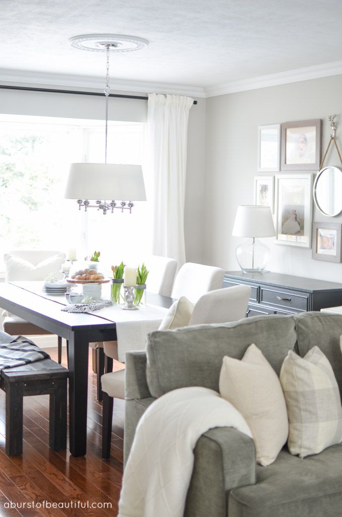 1000 images about a burst of beautiful blog on pinterest for Neutral gray paint for living room