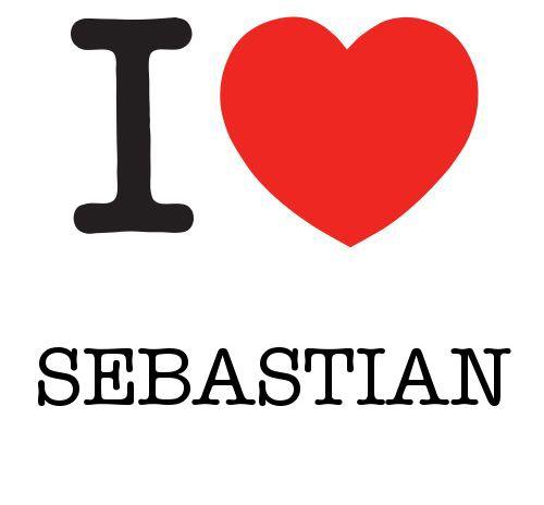 I Heart Sebastian #love #heart