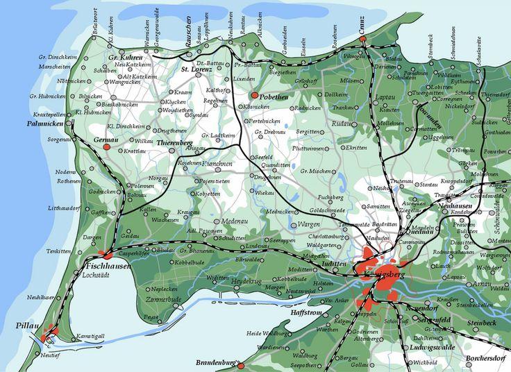 Übersichtskarte Samland. Das Samland (russisch: Самбия, litauisch: Sémba, polnisch/lateinisch: Sambia) ist eine Halbinsel in der Ostsee. Der Name leitet sich vom prussischen Wort ''zemmē'' für Erde ab.