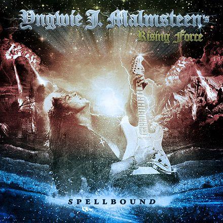 Yngwie Malmsteen - Spellbound (2012) #yngwiemalmsteen #coverdesign #albumart