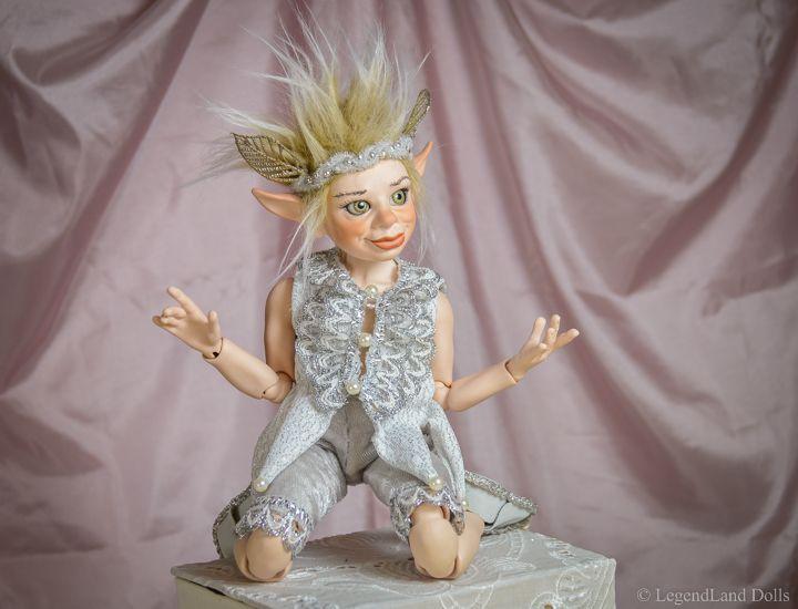 BJD boy Rafael. He is One Of A Kind, handmade porcelain art doll.