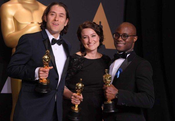 Oscars Backstage Reaction: Casey Affleck, Kenneth Lonergan, Mahershala Ali, More