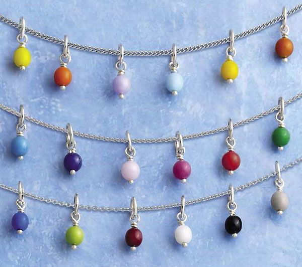 Popular Charm Bracelets 2: Add A Pop Of Color With Glass Enhancer Beads, Available In