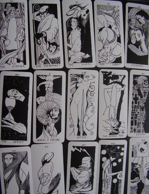 k     A O S  22 big Arcana Major Tarot Deck  by BAMBOLANERAtarot