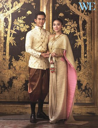 Thai/Khmer wedding attire