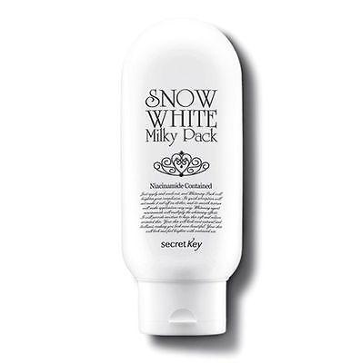 3 Pcs Secret Key Snow White Milky Pack  Natural Looking Brightness Effect Korea