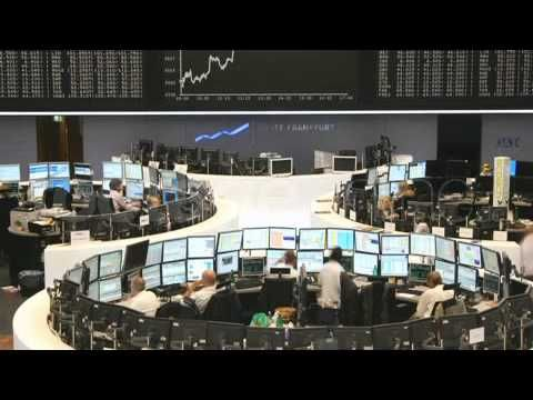 Frankfurt Stock Exchange timelapse footage