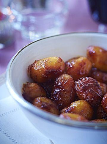 Opskrift på de lækreste brunede kartofler
