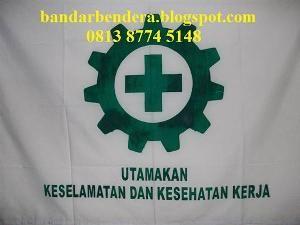 Bendera Safety K3 Standar Disnaker drill