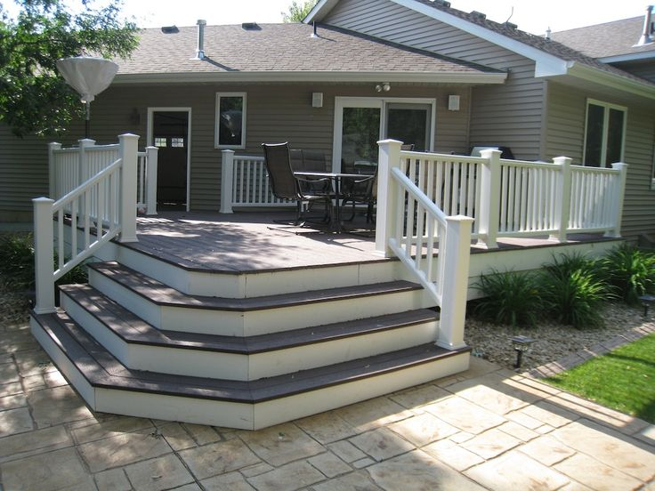 Corner veranda decking designs