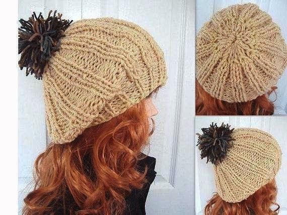KNITTING PATTERN Hat pdf  num. 426. MAUREEN knitted by Hectanooga, $4.99 https://www.etsy.com/listing/82167061/knitting-pattern-hat-pdf-num-426-maureen?ref=shop_home_active_1