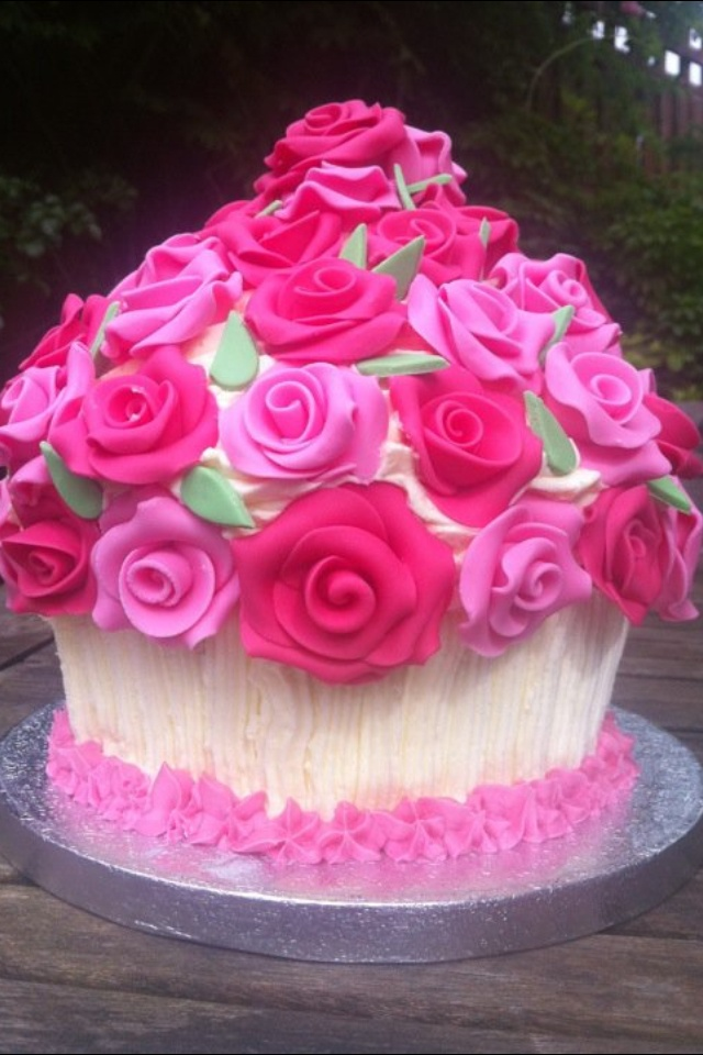 Bouqcake Cupcakes   The fusion of cupcakes and a bouquet  Bouqcake birthday giant cupcake