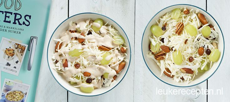 Kijkje in het suikervrije kookboek van de foodsisters met recept voor witte kool salade