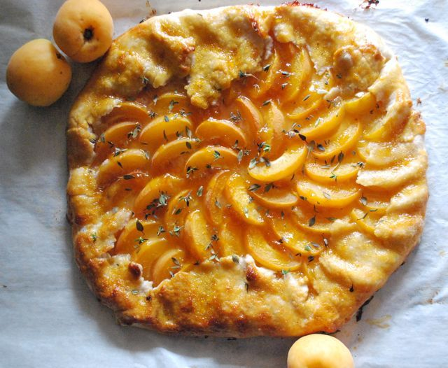 Apricot and Thyme Galette | BetsyLife