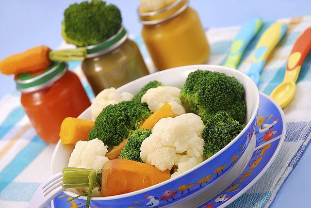 Ernährungsplan / Rezepte für das erste Jahr, Brei etc.