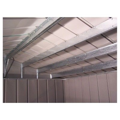 Roof Strengthening Kit For Arrow 10X13 And 10X14 Sheds (Except: Swing Door Units) - Arrow Storage Products, Grey
