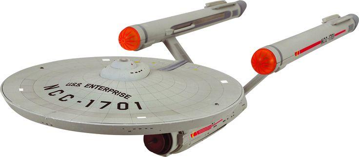Diamond Select Toys - Star Trek: NCC-1701 Enterprise Electronic Starship - Multi