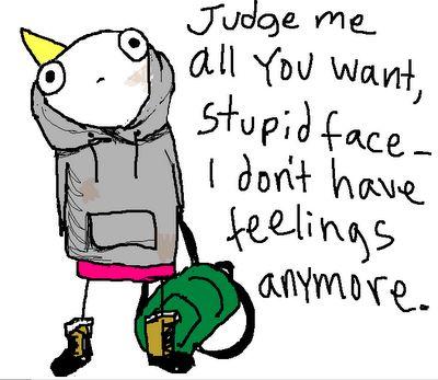 Hyperbole and a half : Adventure, Life, Quote, Judge Me, Half, Depression, Feelings