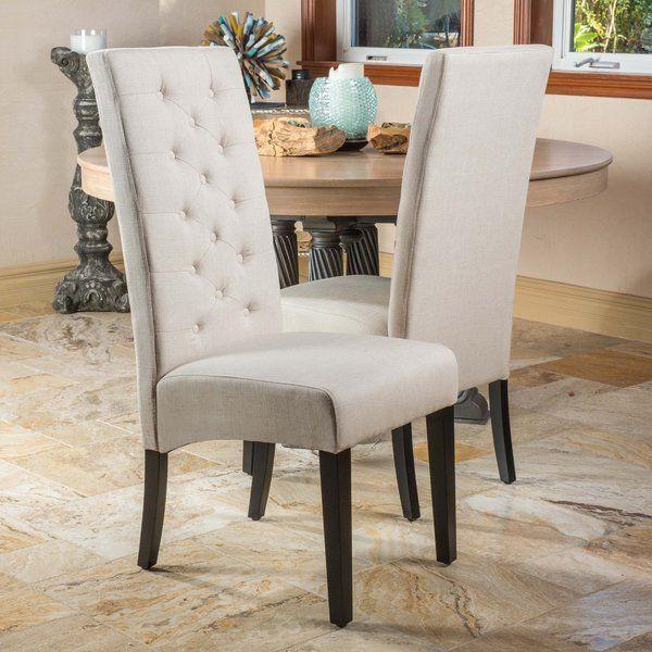 Lemaire Tufted Upholstered Side Chair Sillas Comedor Madera Conjuntos De Comedor Sillas De Estilo