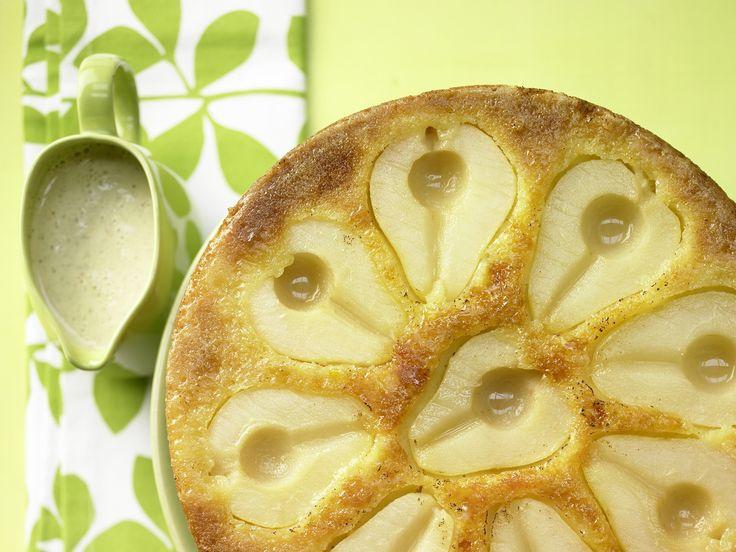 Birnen-Rührkuchen - mit Marzipan - smarter - Kalorien: 309 Kcal - Zeit: 40 Min. | eatsmarter.de Sieht dieser Kuchen mit Birnen nicht köstlich aus?
