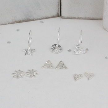 Extra Charms To Go With Silver Hoop Earrings