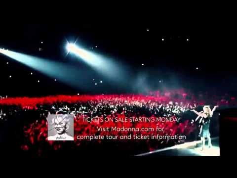 Madonna Rebel Heart Tour Promo