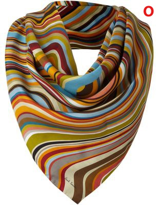 Paul Smith scarf - collect 260 nectar points when you buy #winterclothes