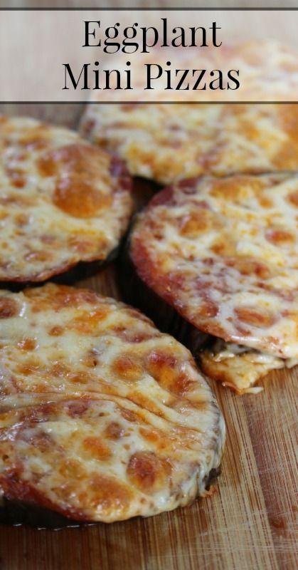 Eggplant Mini Pizzas {Grain Free} {Primal} {Vegetarian option}