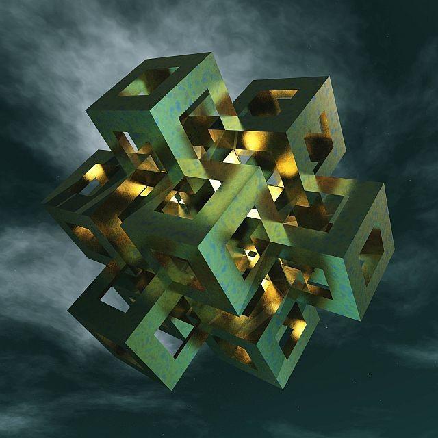 NEO-geometrikus absztrakt - 4 by BAGI LASZLO  jr.