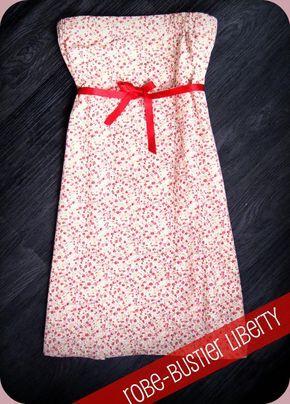 Tuto fastoche : robe bustier