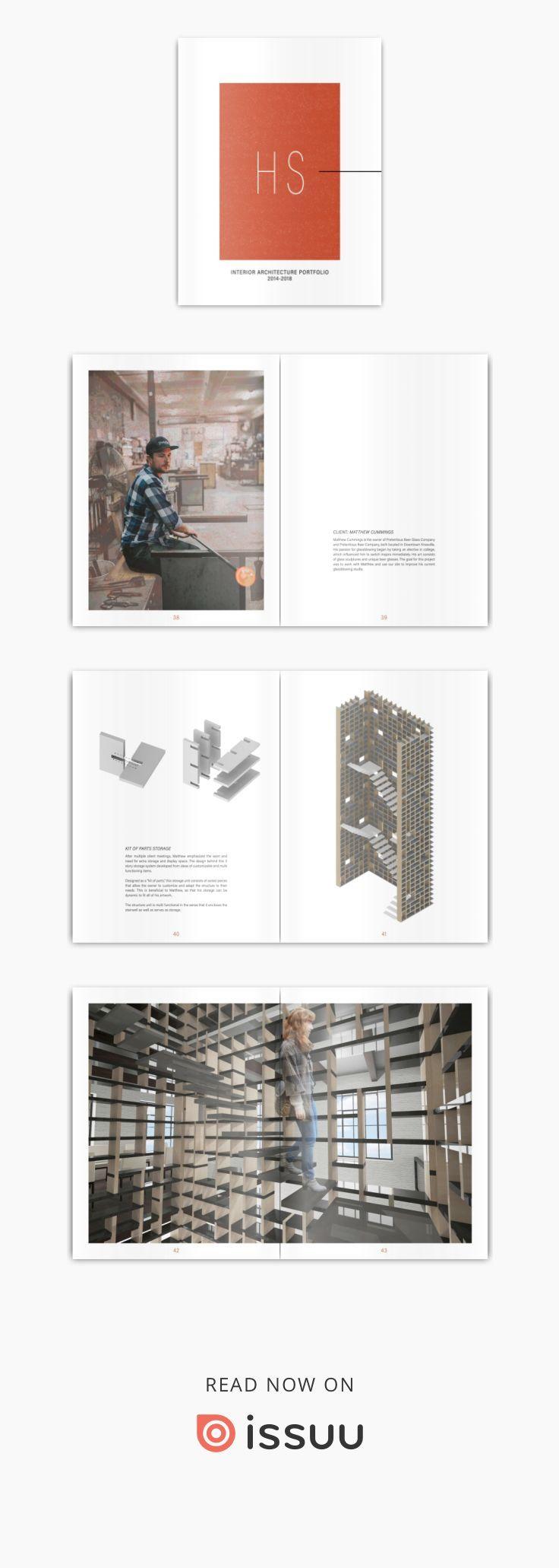 Portfólio de arquitetura de interiores 2018   – подачи круть