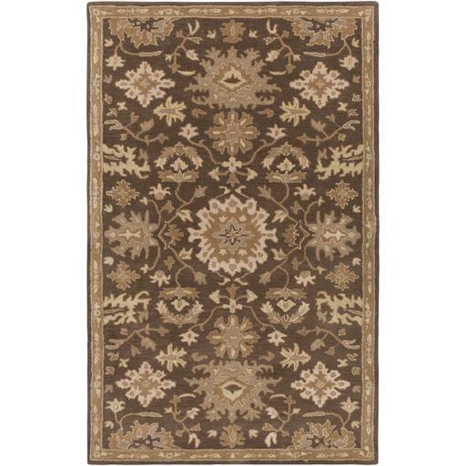 Caesar CAE-1148 Brown Damask Rug  #rugs #decor #homedecor #classy #homeideas #decorating #floorcoverings #diy #interiorstyling #fab