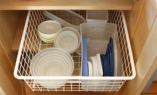 How-To: Store & Organize Plastic Food Containers