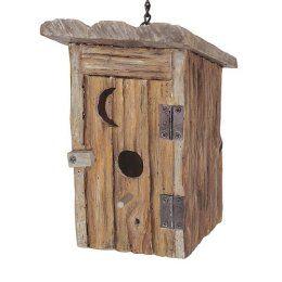 bird house outhouse