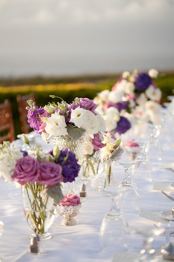 Beautiful tablescape! Photography by janamorgan.com, Flowers by bellabloommaui.com