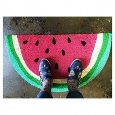 Watermelon Doormat by Down to the Woods