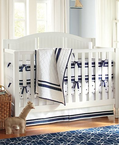 Navy Harper Nursery Pottery Barn Kids Baby Boy New House Ideas