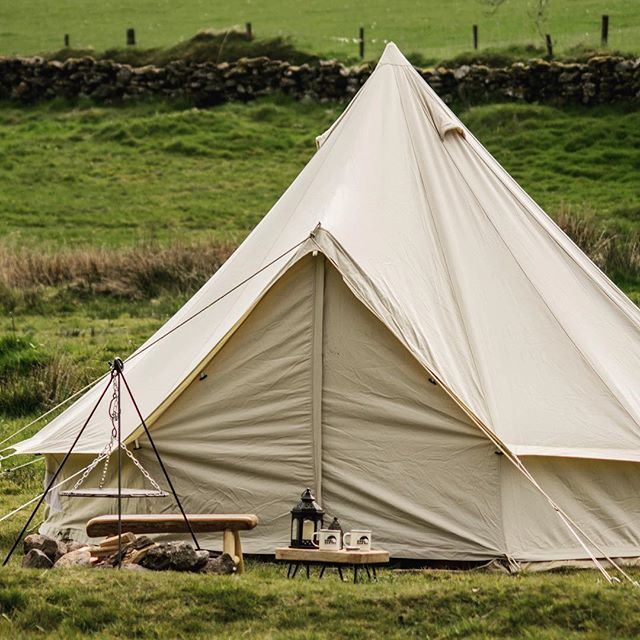 Some product testing at the weekend with @coolcanvas quality bell tents. #camping #glamping #devon #cornwall #belltenthire#eventprofs #evedeso #eventdesignsource - posted by Steve https://www.instagram.com/igloostructures. See more Event Designs at http://Evedeso.com