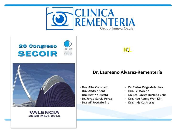 Clinica Rementeria   http://www.cirugiaocular.com  Ponencia presentada en el VideoSimposium sobre Complicaciones y Maniobras Quirurgicas celebrado en el congreso de SECOIR 2011.   El Dr. Rementeria muestra un caso sobre una icl que se dio la vuelta a la hora de implantarla.