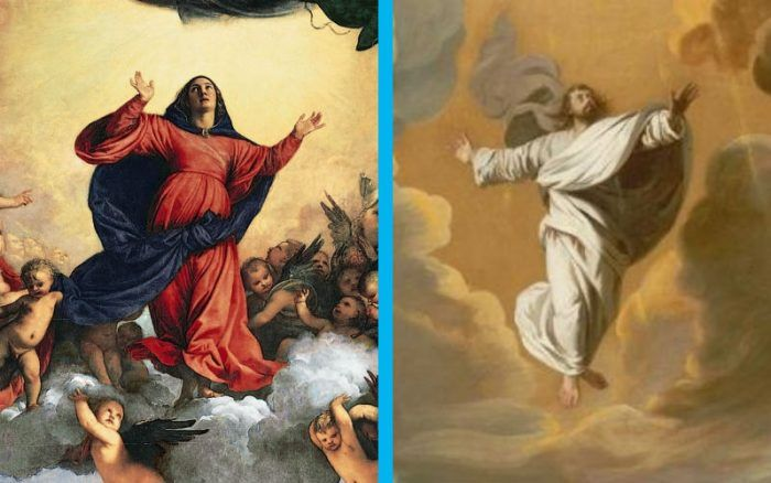 assumption ascension - https://churchpop.com/2016/08/14/why-was-mary-assumed-into-heaven-while-jesus-ascended-the-answer-matters/