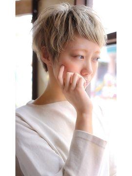 【+~ing  deux】ラブshort【松本光司】 - 24時間いつでもWEB予約OK!ヘアスタイル10万点以上掲載!お気に入りの髪型、人気のヘアスタイルを探すならKirei Style[キレイスタイル]で。